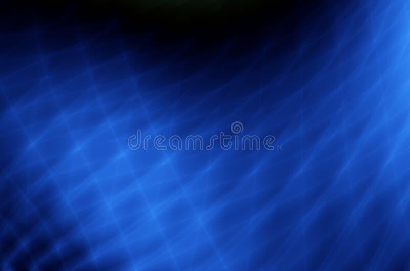 Abstrakter blauer Grillhintergrund der Technologie lizenzfreie abbildung