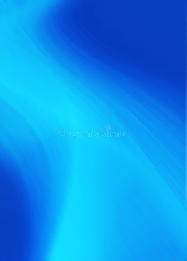 Abstrakter blauer heller Hintergrund lizenzfreie abbildung