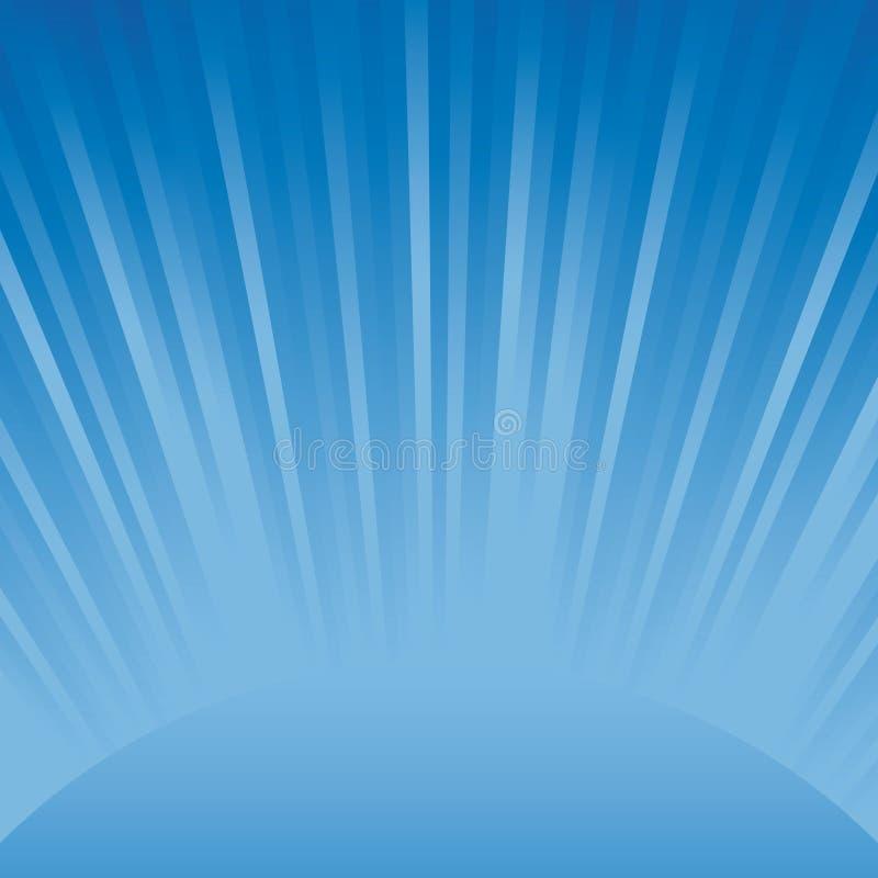 Abstrakter blauer heller Hintergrund vektor abbildung