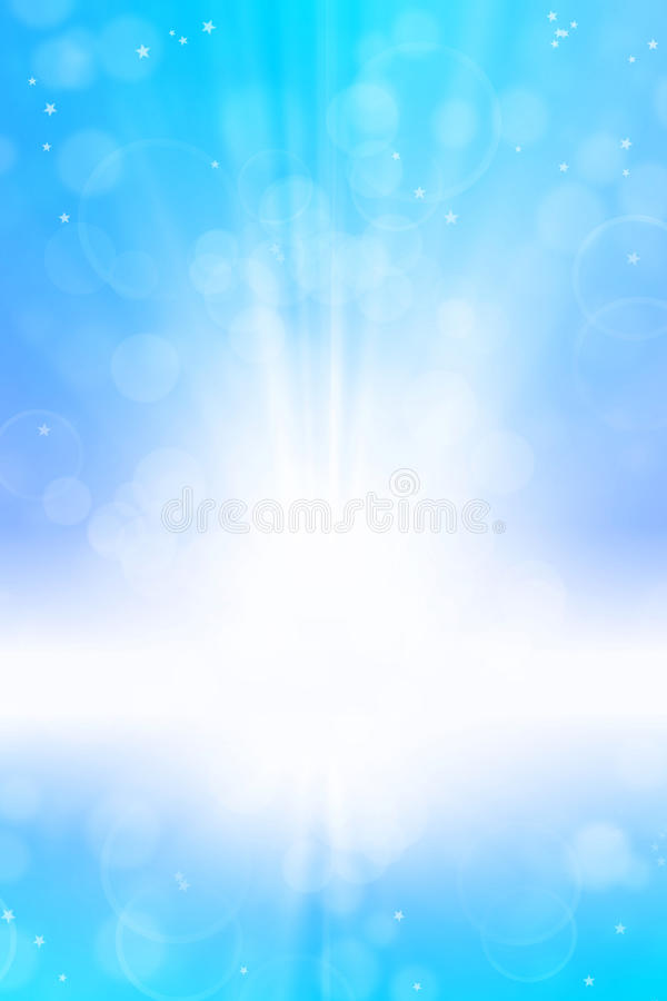Abstrakter blauer Hintergrund stock abbildung