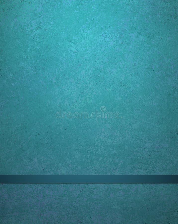 Abstrakter blauer Hintergrund mit Band vektor abbildung