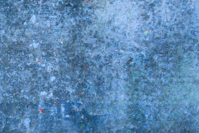 Abstrakter blauer Hintergrund mit Farbe lizenzfreie stockfotos