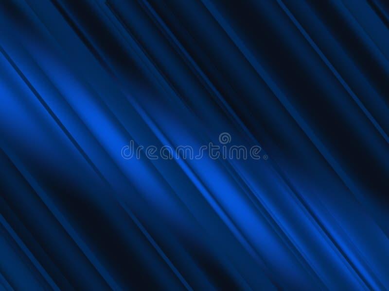 Abstrakter blauer Hintergrund mit hellen diagonalen Linien Geschwindigkeitsbewegungsdesign Dynamische Sportbeschaffenheit Technol vektor abbildung