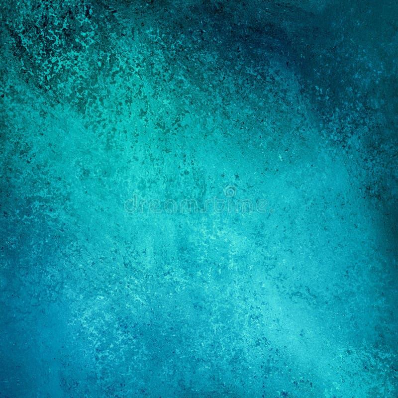 Abstrakte blaue blackground Schmutzbeschaffenheit stock abbildung