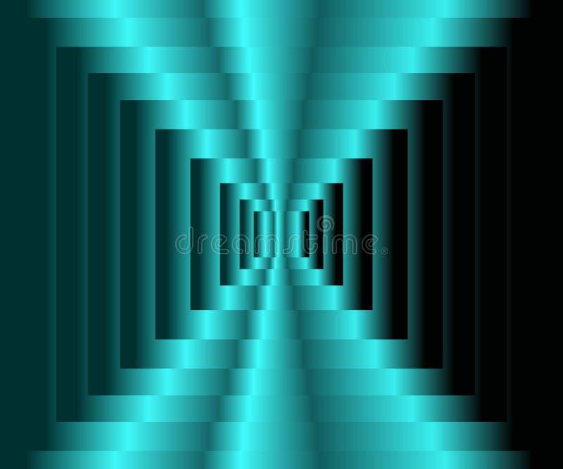 Abstrakter blauer und weißer Steigungshintergrund Modern, Wissenschaft, Technologie, Cyberspacekonzepte Vektorabbildung, ENV 10 lizenzfreie abbildung