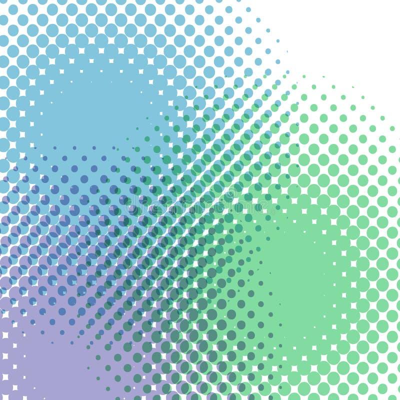 Abstrakter, blauer Vektor-Hintergrund für die Verwendung in der Konstruktion stock abbildung