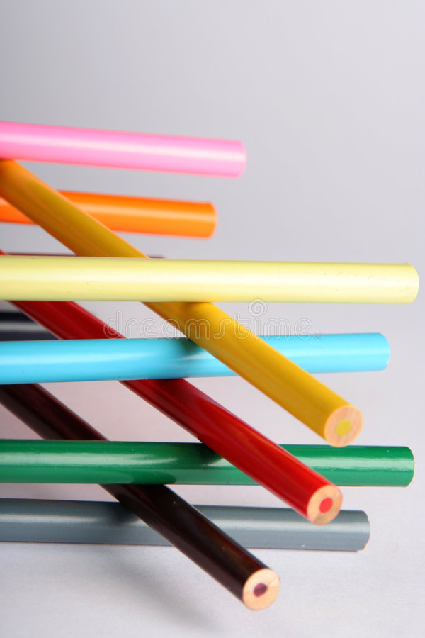 Abstrakter Bleistifthintergrund stockfotografie