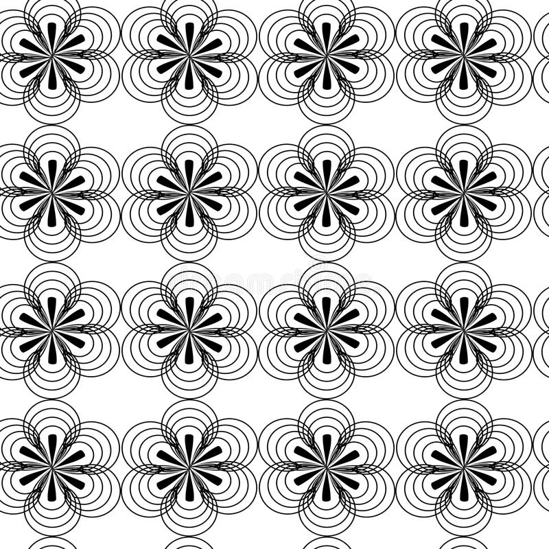 Abstrakter Blumenhintergrund vektor abbildung