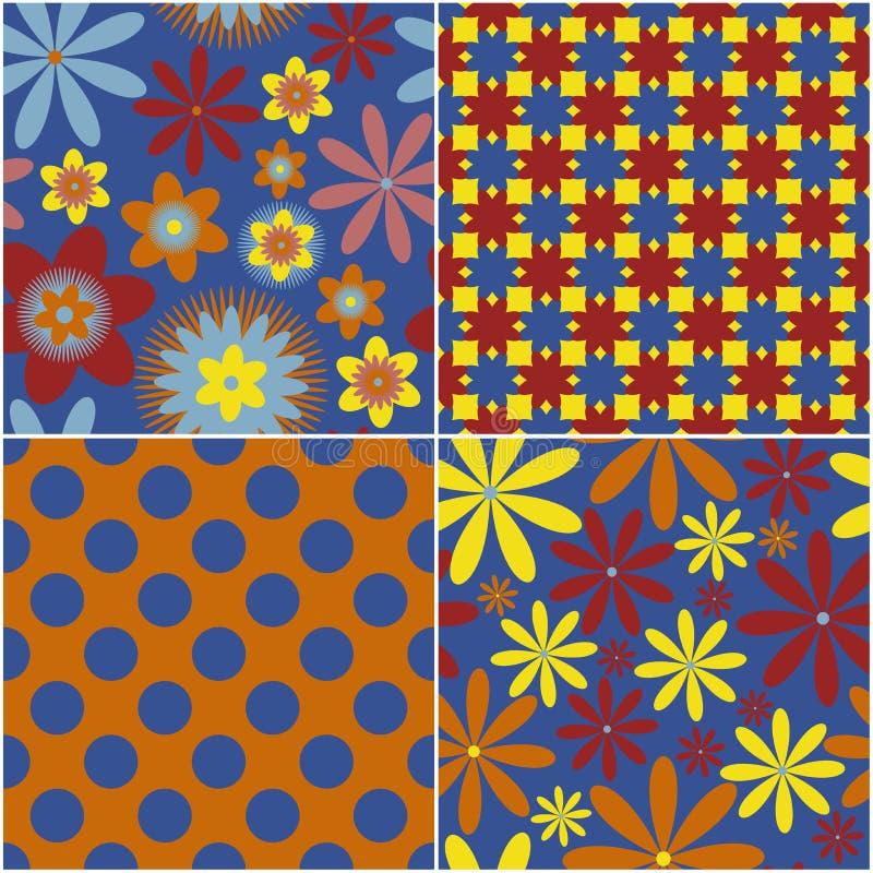 Download Abstrakter Blumenhintergrund Vektor Abbildung - Illustration von blumenstrauß, wiederholung: 26365163