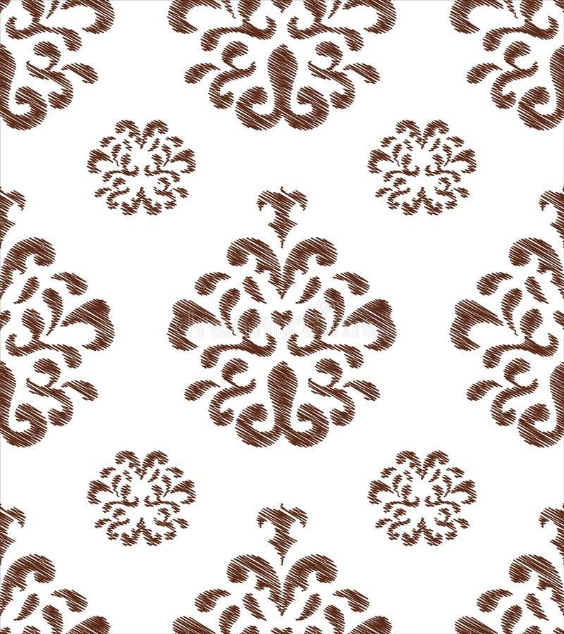 Abstrakter Blumenhintergrund stock abbildung