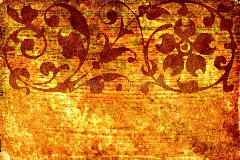 Abstrakter Blumenhintergrund no.4 stock abbildung