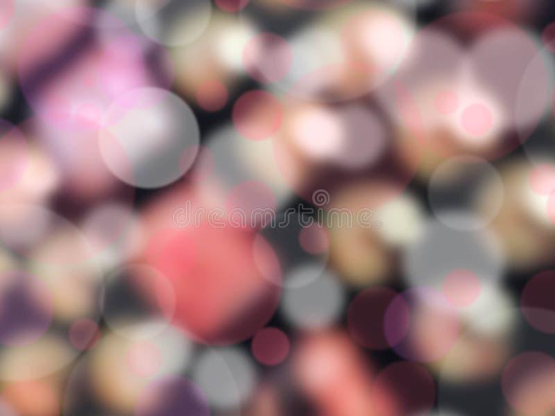 Abstrakter bokeh Hintergrund stockbild