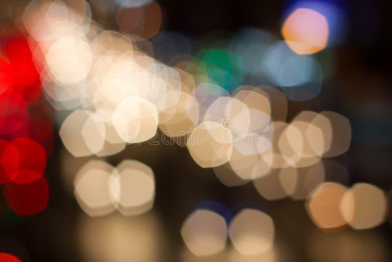 Abstrakter bokeh Hintergrund des Feiertagslichtes, Unschärfe, abstrakt lizenzfreie stockfotos