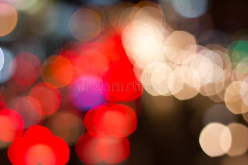 Abstrakter bokeh Hintergrund des Feiertagslichtes, Unschärfe, abstrakt lizenzfreies stockbild