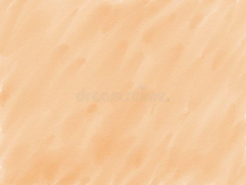 Abstrakter Braunhintergrund des Handabgehobenen betrages auf Papierbeschaffenheit, Illustration, Kopienraum für Text, Aquarellfar stockbilder