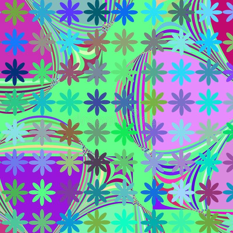 Abstrakter bunter geometrischer kreativer Hintergrund, Bild vektor abbildung