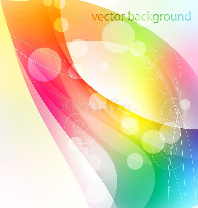 Abstrakter bunter Hintergrund lizenzfreie abbildung