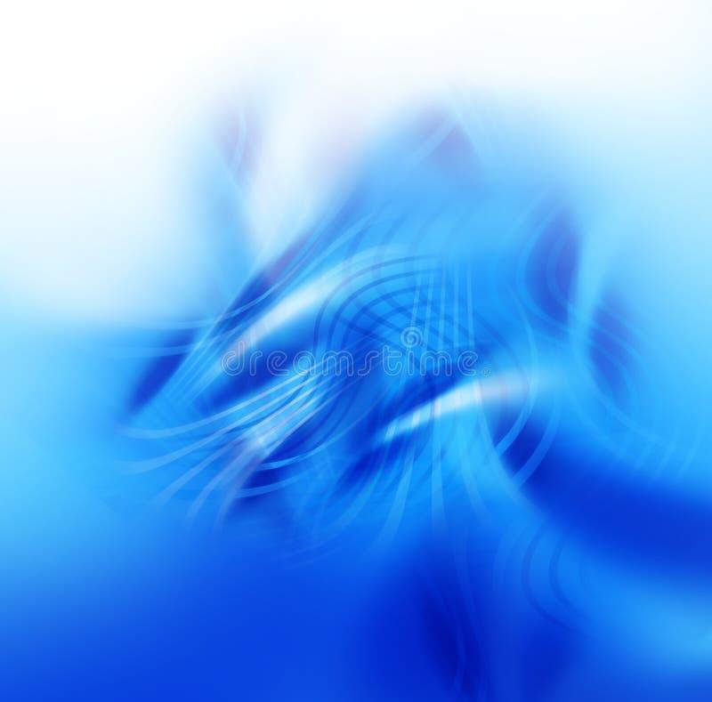 Abstrakter bunter Hintergrund - Wellen und Leuchte