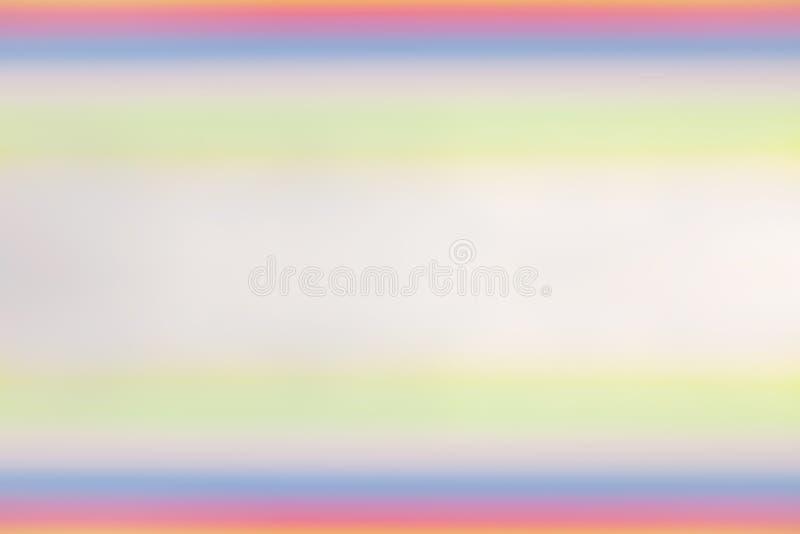 Abstrakter bunter unscharfer Hintergrund lizenzfreie abbildung