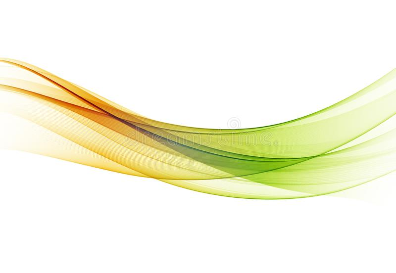 Abstrakter bunter Vektorhintergrund, Farbwelle für Designbroschüre, Website, Flieger stock abbildung