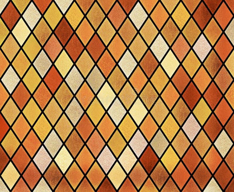 Abstrakter Buntglasfensterhintergrund lizenzfreies stockfoto