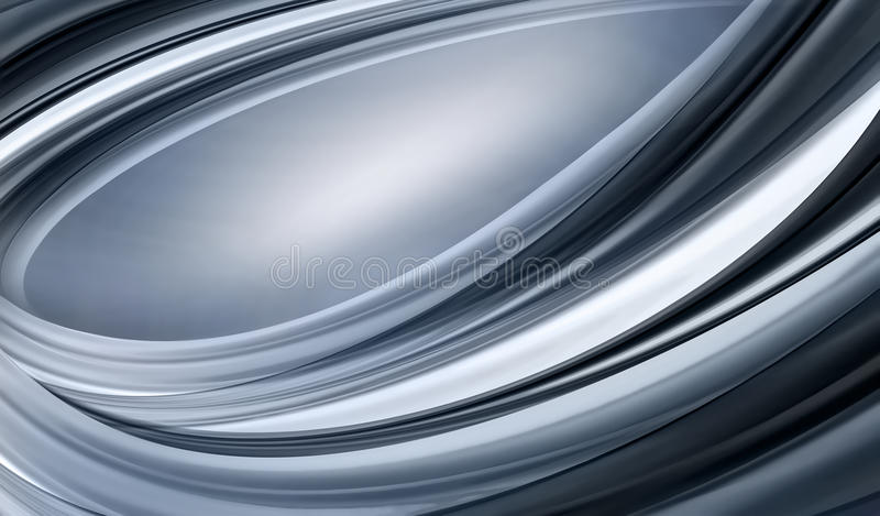 Abstrakter Chrome-Hintergrund stock abbildung