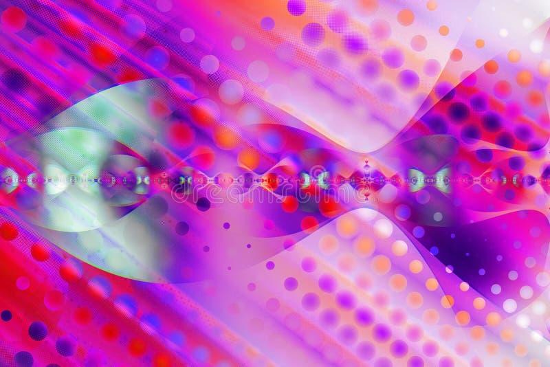 Abstrakter, computererzeugter Fractal lizenzfreie abbildung