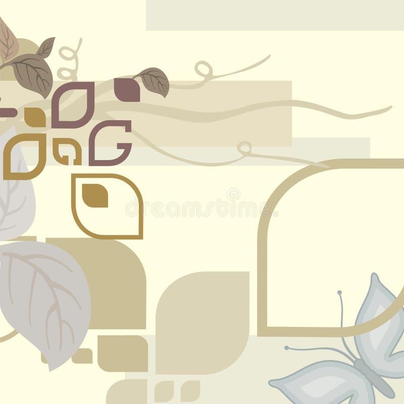 Abstrakter deco Hintergrund stock abbildung