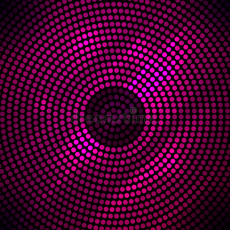 Abstrakter Discohintergrund mit Halbtonbild. lizenzfreie abbildung