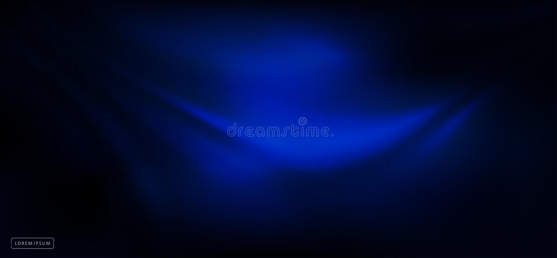 Abstrakter dunkelblauer Entwurf als Falten von der Angelegenheit lizenzfreie abbildung