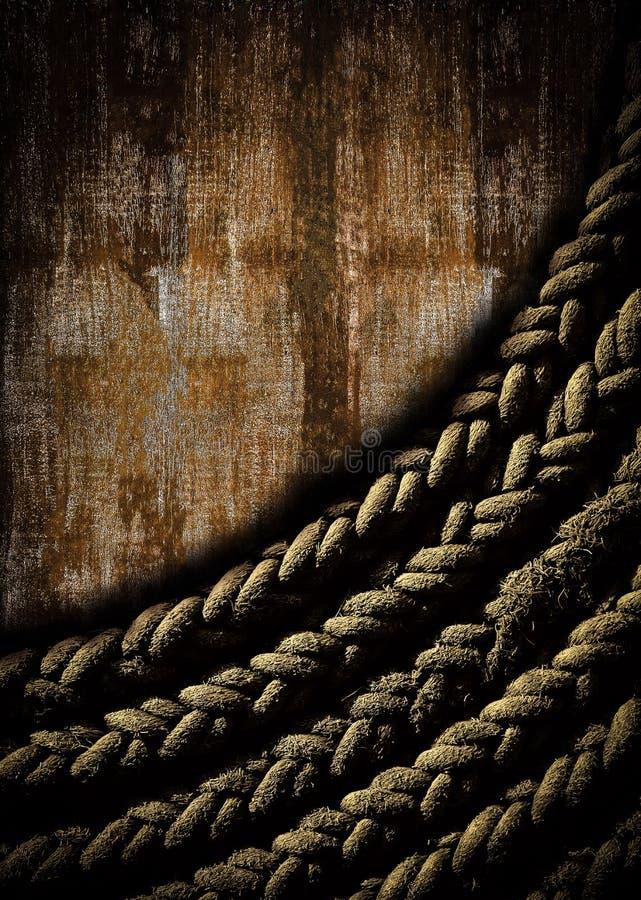 Abstrakter dunkler Seilhintergrund lizenzfreie stockfotos