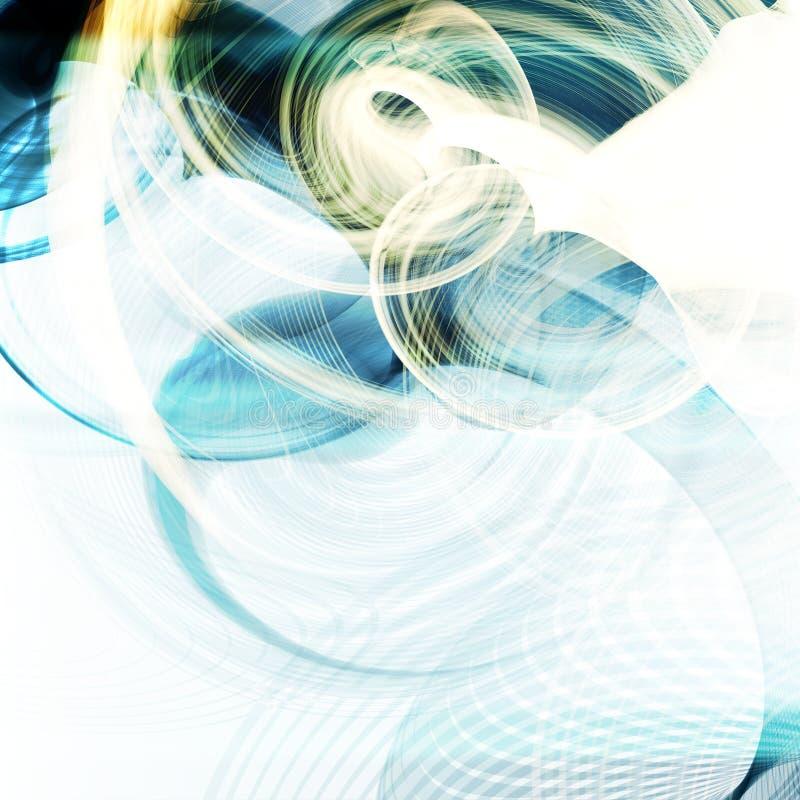 Abstrakter dynamischer Hintergrund vektor abbildung