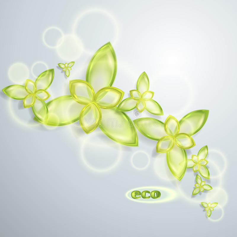 Abstrakter Eco Hintergrund Stockbild
