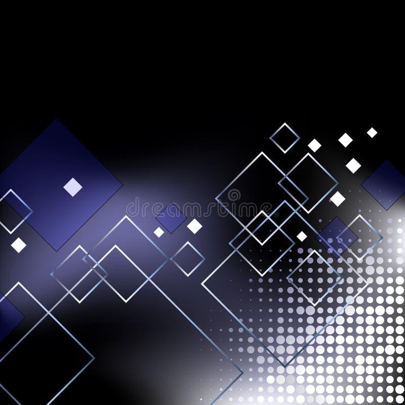 Abstrakter eleganter blauer Geschäftshintergrund vektor abbildung