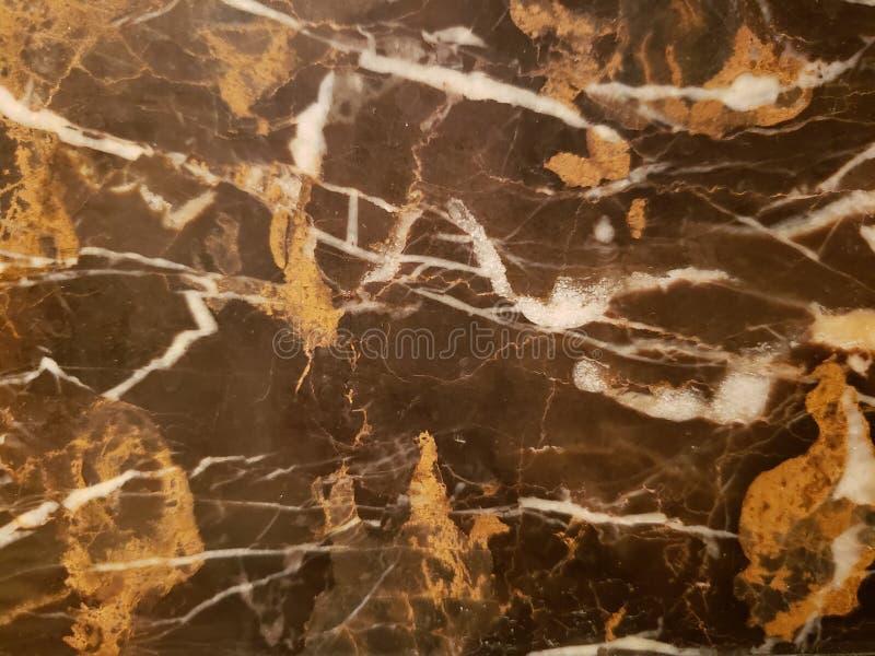 abstrakter Entwurf mit Marmor in den braunen und weißen Farben, im Hintergrund und in der Beschaffenheit lizenzfreie stockfotografie