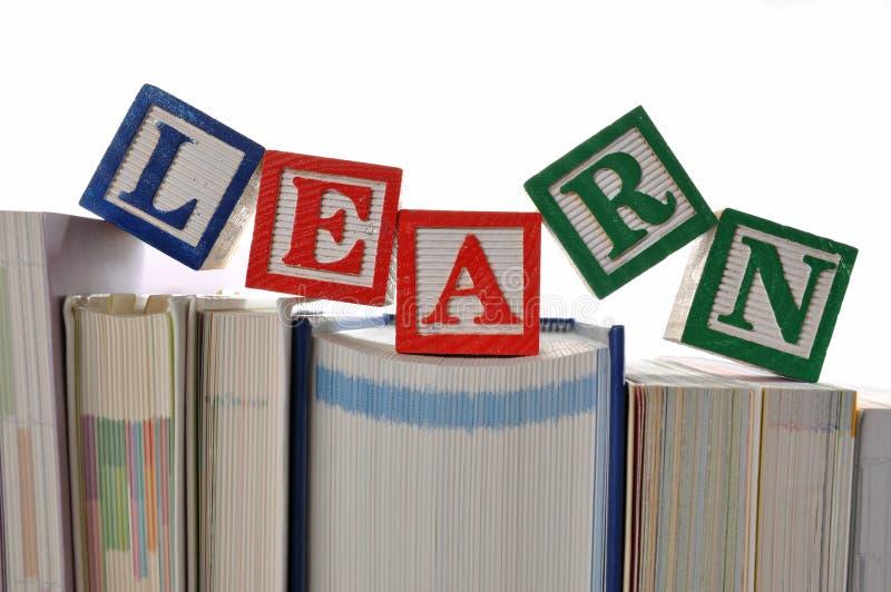 Abstrakter erlernenhintergrund lizenzfreies stockbild