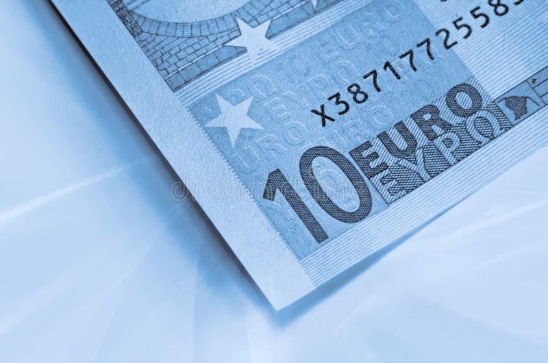 Abstrakter Eurogeldhintergrund lizenzfreie stockfotografie
