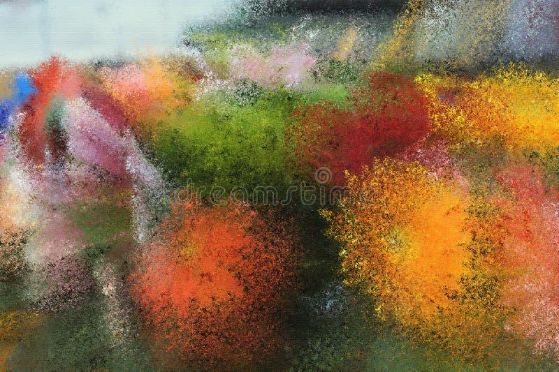 Abstrakter Farben-Hintergrund stockfotografie