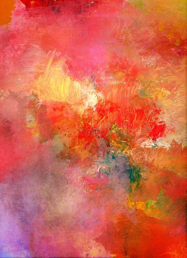 Abstrakter Farbenbeschaffenheitshintergrund aufrecht lizenzfreie abbildung