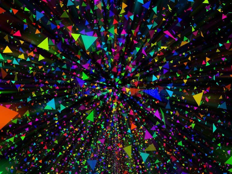 Abstrakter Farbenhintergrund lizenzfreie stockfotografie