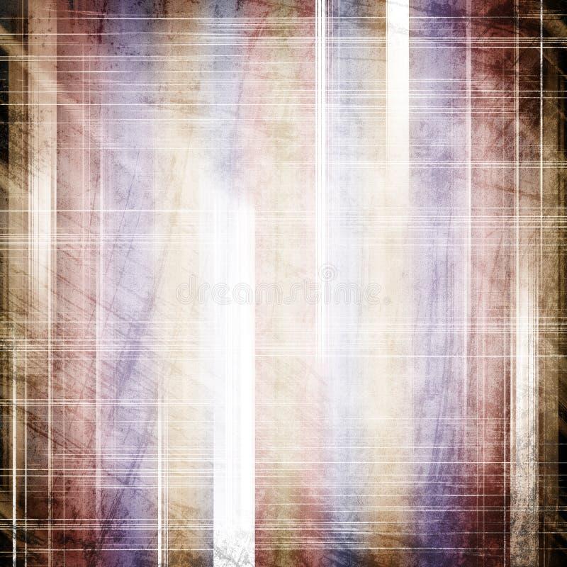 Abstrakter Farbenhintergrund stock abbildung