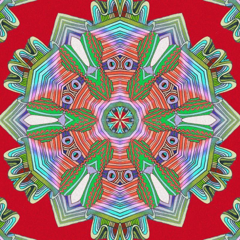 Abstrakter Farbenhintergrund Kunst, die Hilfsmittel herstellt vektor abbildung