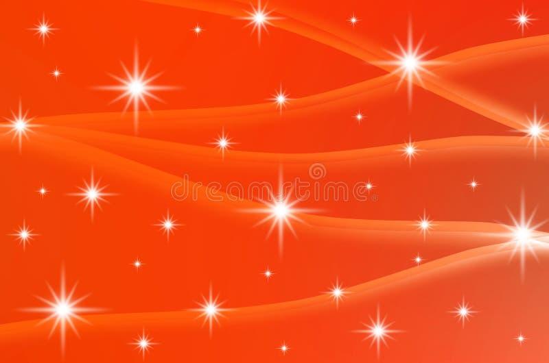Abstrakter Farbhintergrund mit Sternen vektor abbildung