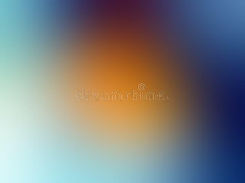 Abstrakter farbiger Hintergrund Unscharfe Kulisse Vector-Illustration für Ihr Grafikdesign, Banner, Sommer- oder Wasserposter stockfoto