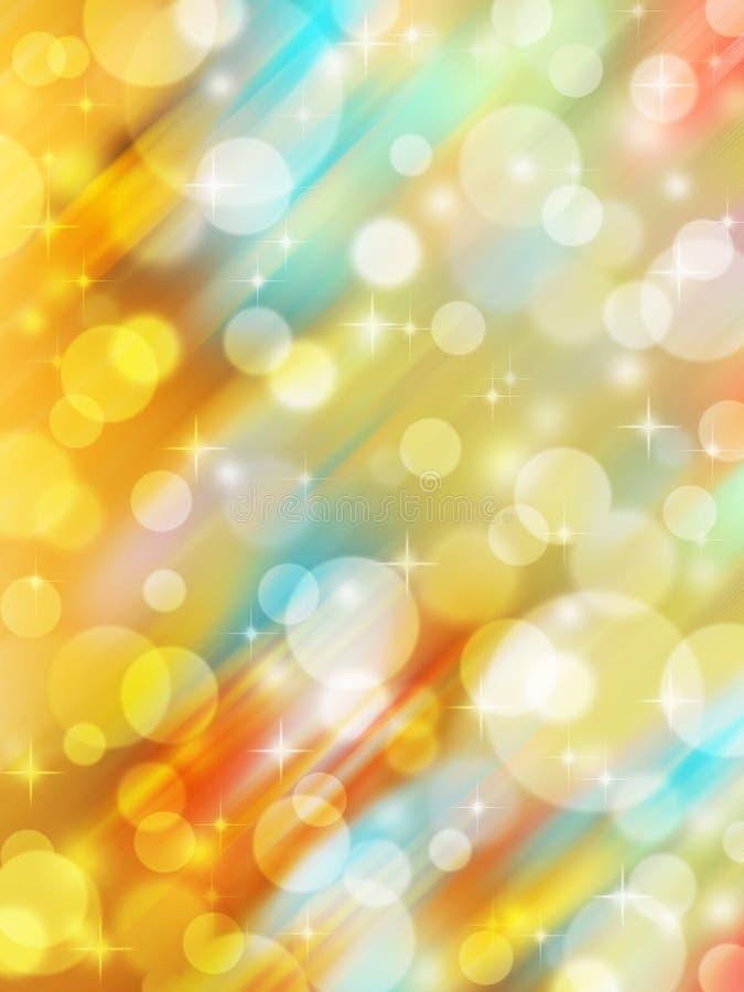 Abstrakter Feierleuchtehintergrund vektor abbildung
