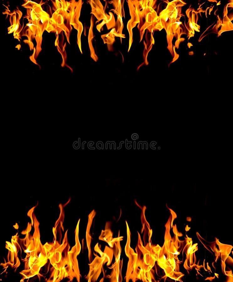Abstrakter Feuerhintergrund lizenzfreie stockfotografie