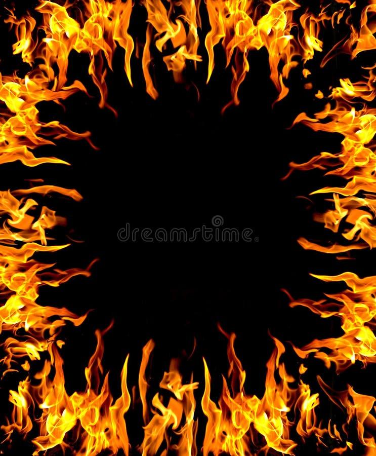 Abstrakter Feuerhintergrund lizenzfreie abbildung