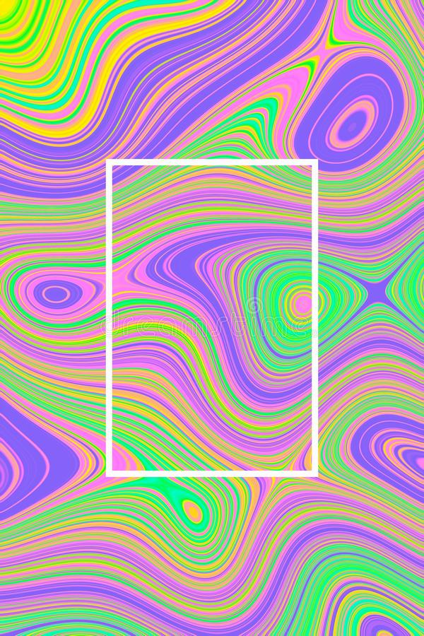 Abstrakter flüssiger Hintergrundentwurf und -graphik für Plakat, flüssige Welle lizenzfreie stockfotos