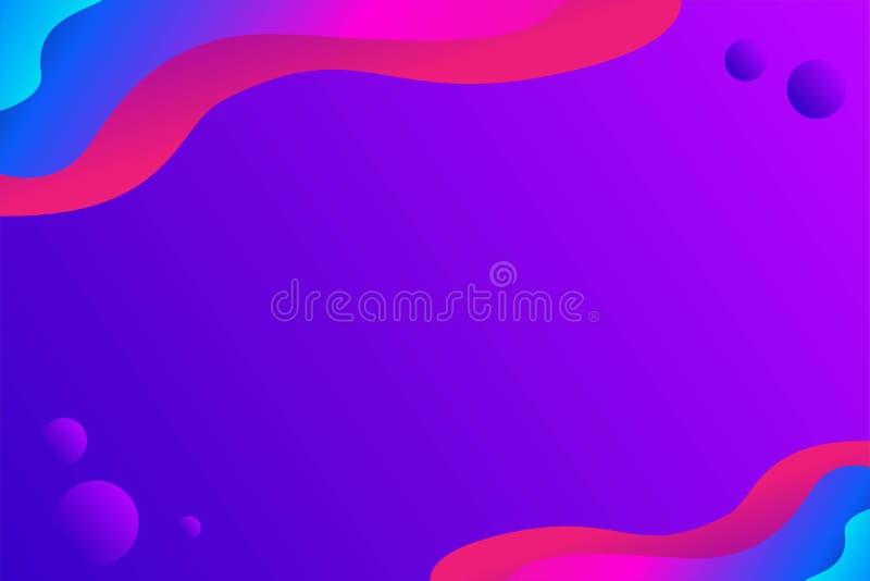 Abstrakter flüssiger Vektor-Hintergrund, moderner Hintergrund, einzigartiger Hintergrund vektor abbildung