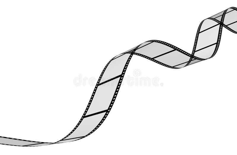 abstrakter fotographischer Film 3d vektor abbildung